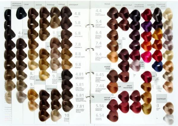 краска для волос капус