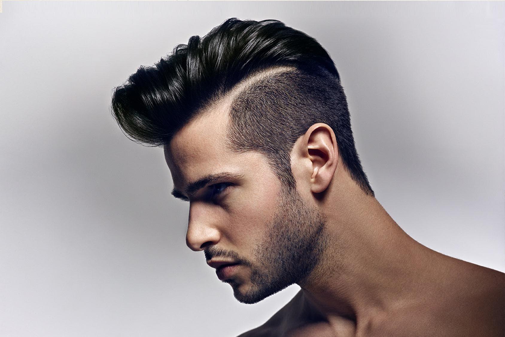 Как сделать растрепанные волосы мужчине