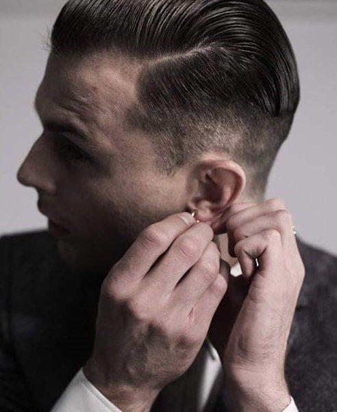 мужские стрижки для овальной формы лиц
