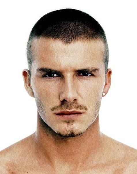 мужская стрижка бокс