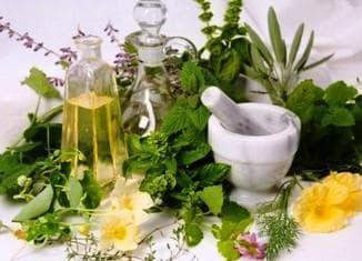 использование лекарстсвенных трав для лечение секущихся кончиков