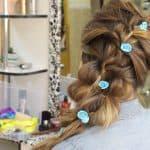 Плетение из резиночек французской косы — три варианта исполнения