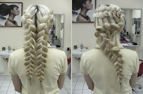французские косы
