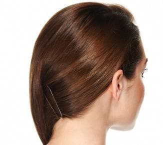 Ракушка на длинные волосы