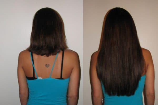 наращивание — лёгкий путь к роскошным волосам