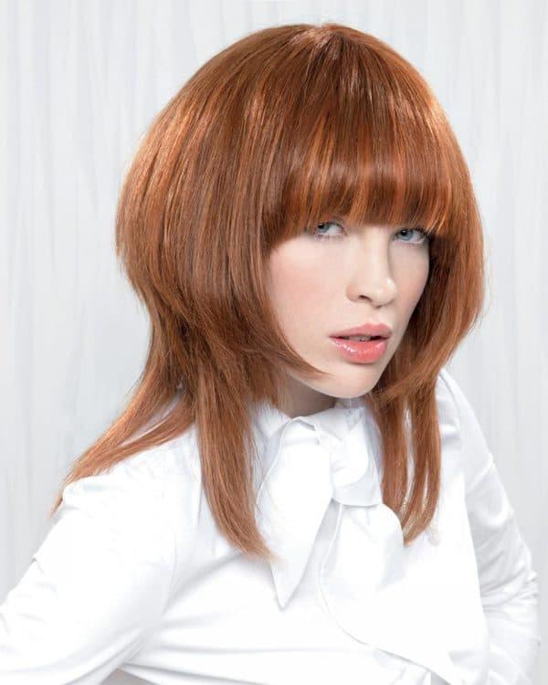 женская стрижка шапочка