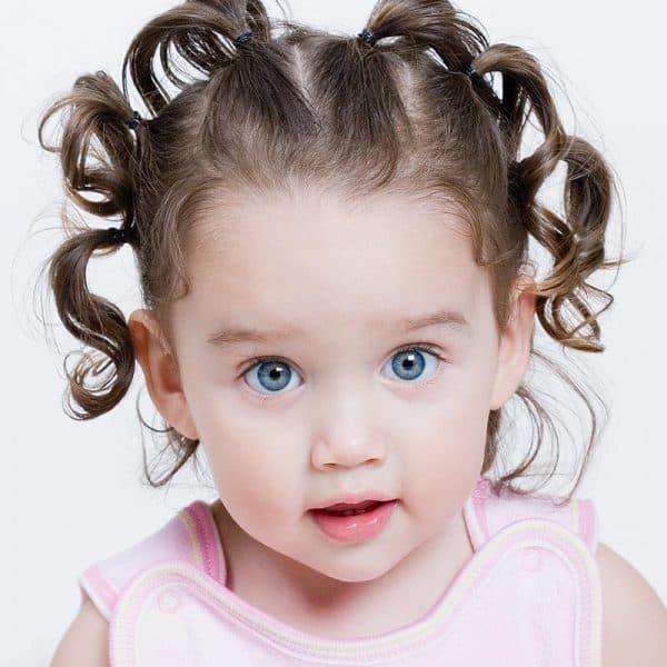 прически для девочек на короткие волосы