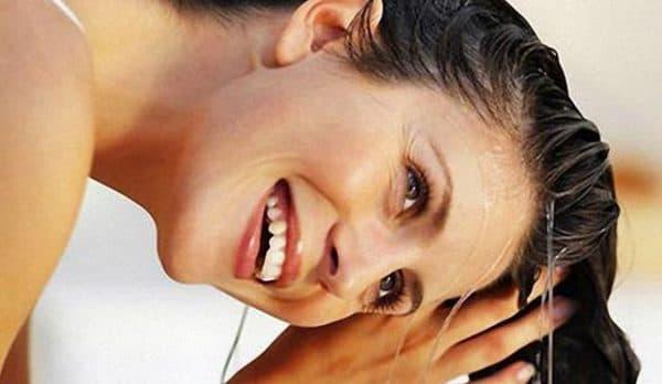 мытье волос содой
