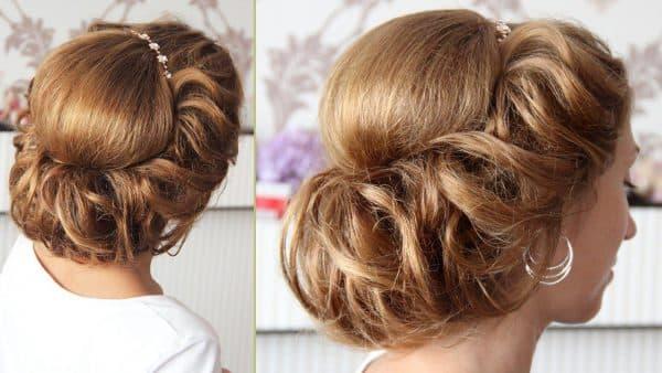 как красиво собрать волосы